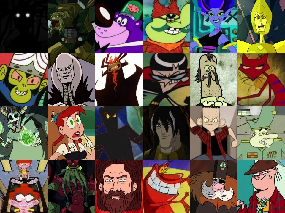 Cartoon Network Archenemies Villain Costumes Villain Cartoon