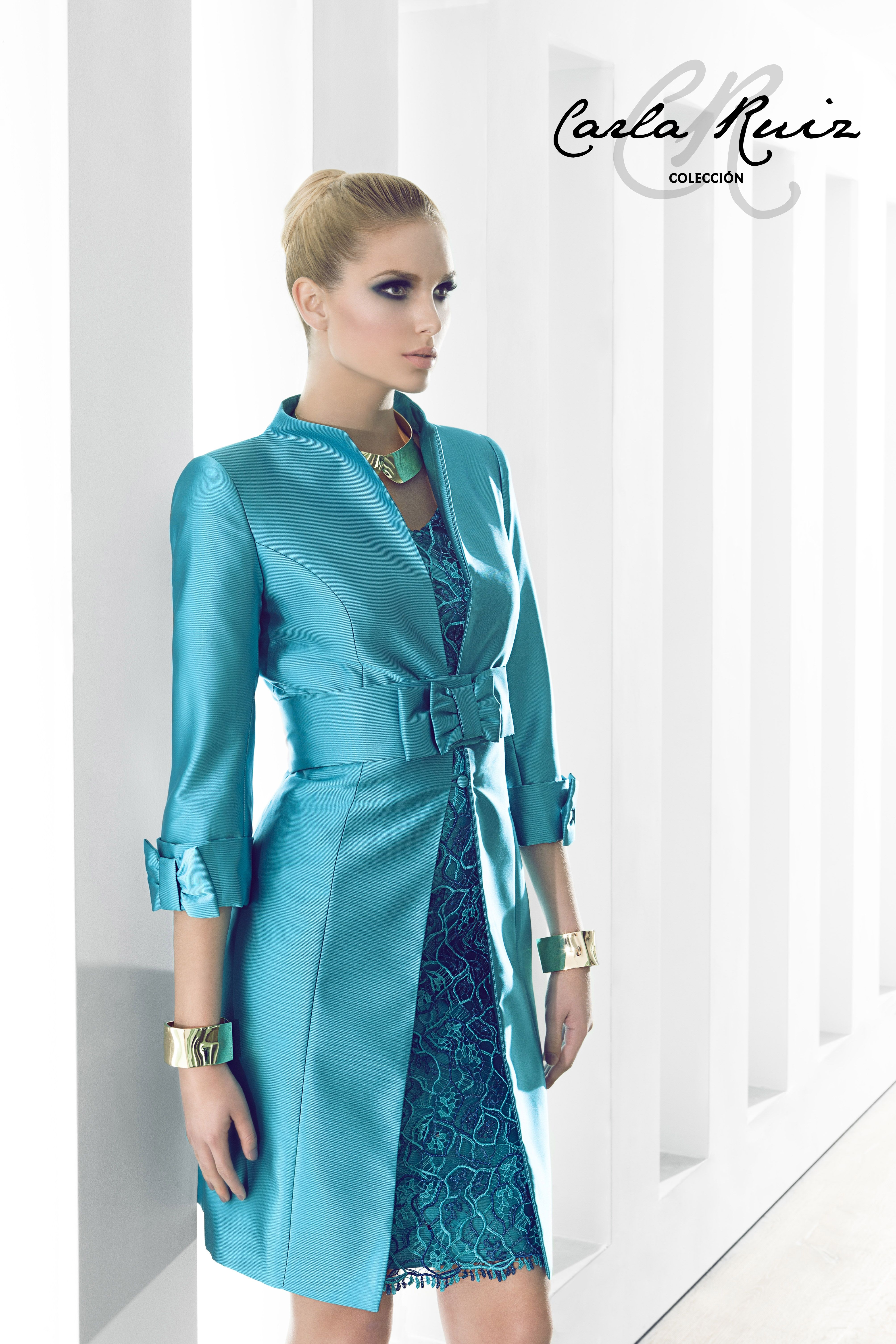 186233 - Vestido de Madrina - Carla Ruiz | madrina | Pinterest ...