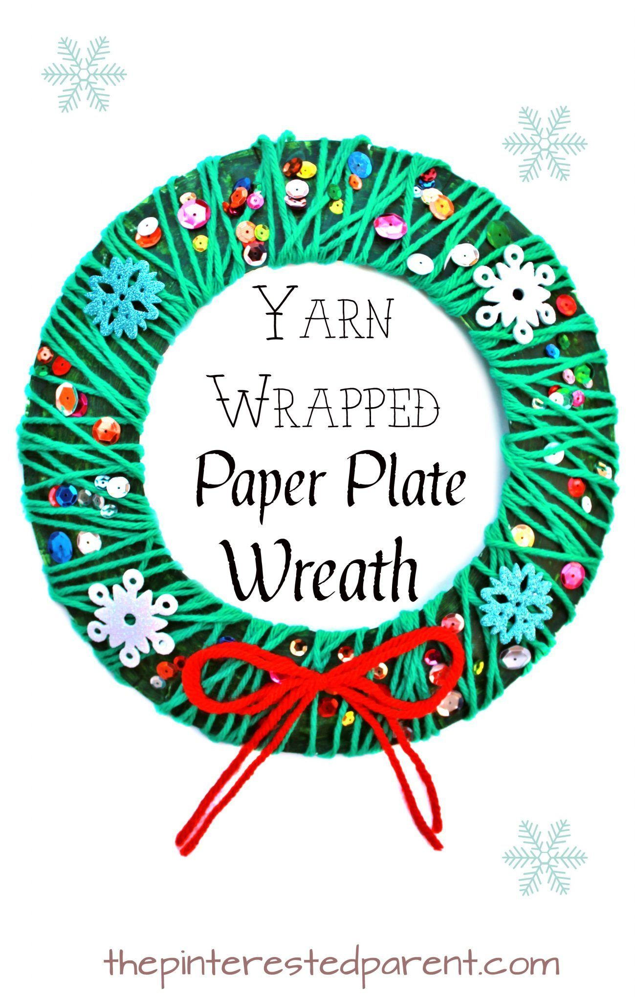42++ Paper plate christmas arts and crafts ideas