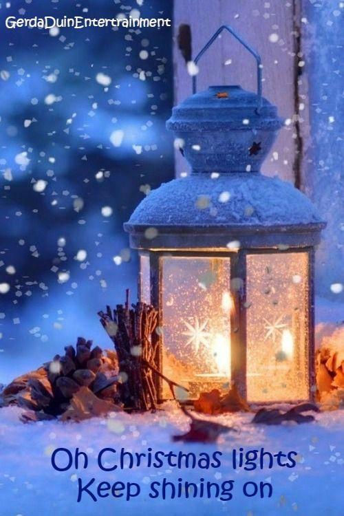 Oh Christmas Lights Keep Shining On Coldplay Weihnachtslichter Dekoration Winterlicht