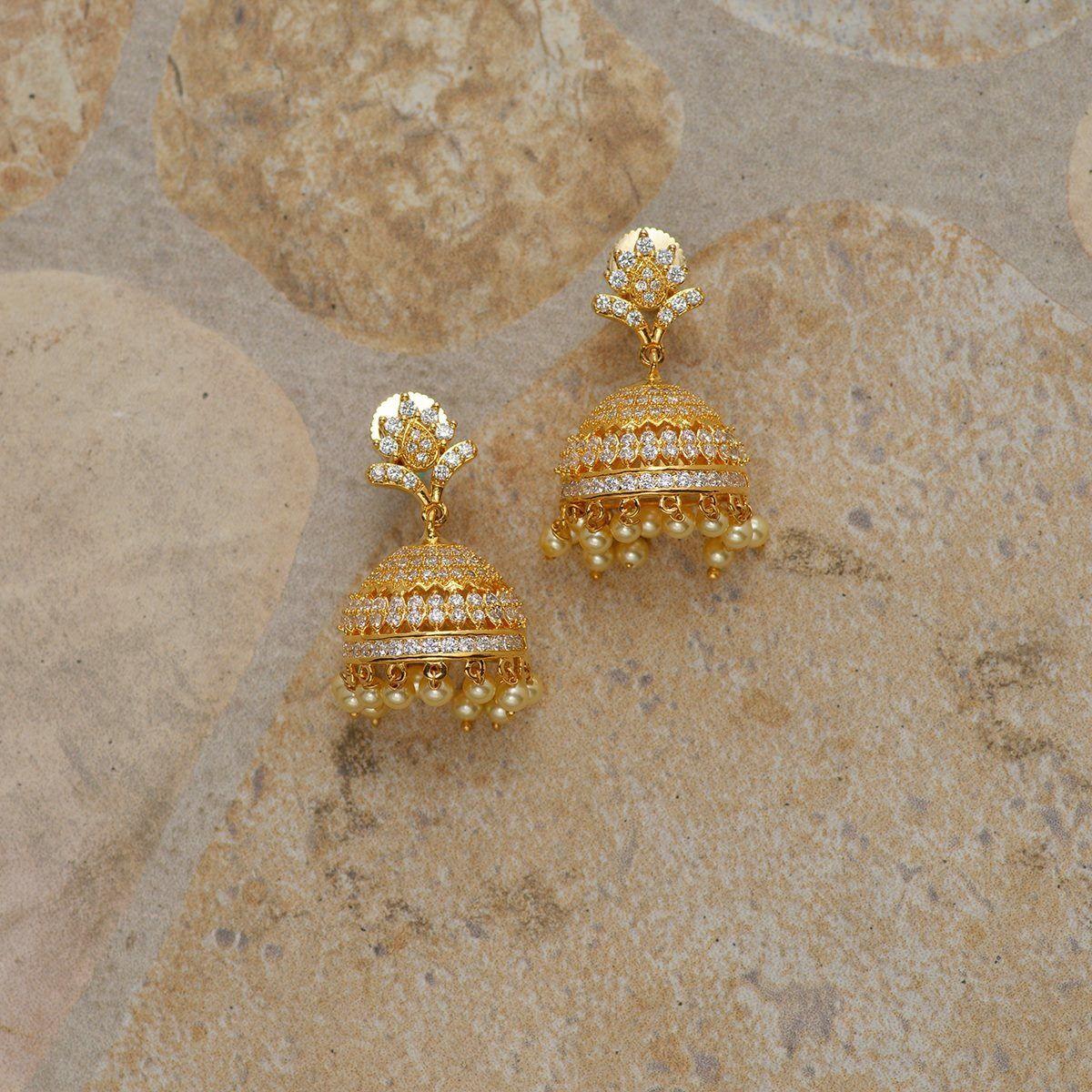 Pin by asha latha on diamond jhumkas pinterest diamond and jewel