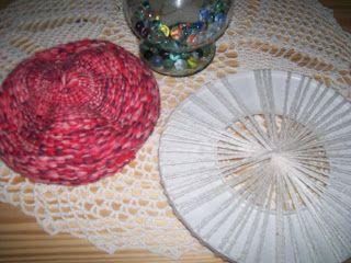 mis pequeños trabajos: boinas en telar circular