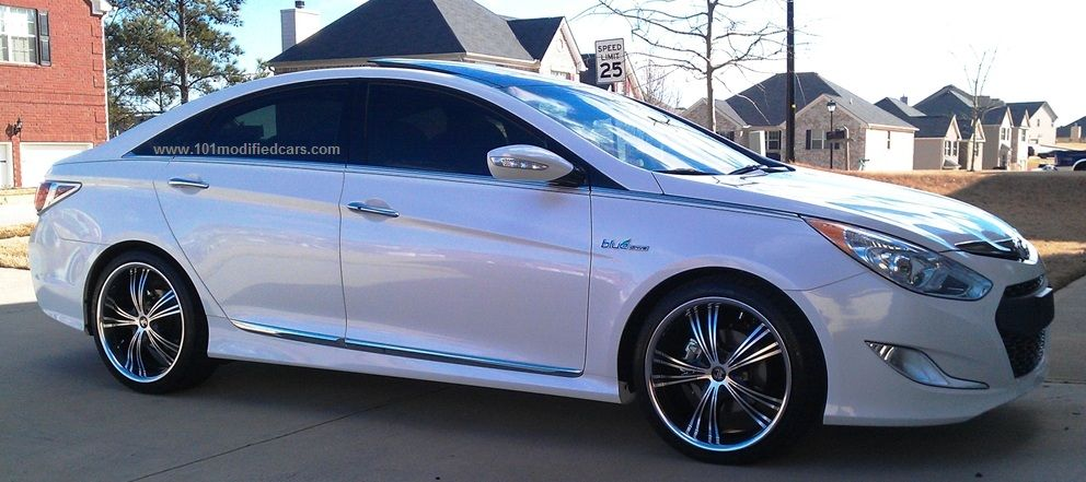 Modified Hyundai Sonata I45 6th Generation Yf