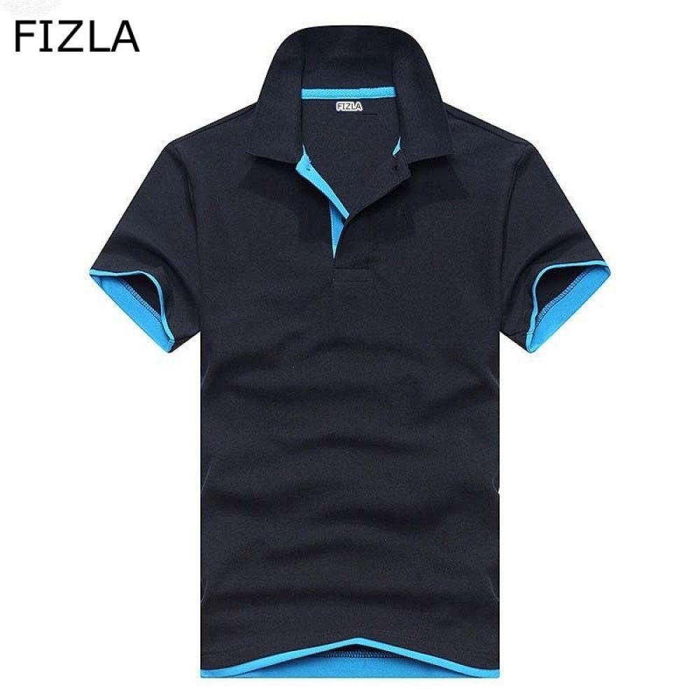 FIZLA Newest Brand Clothing men Polo Shirt High Quality