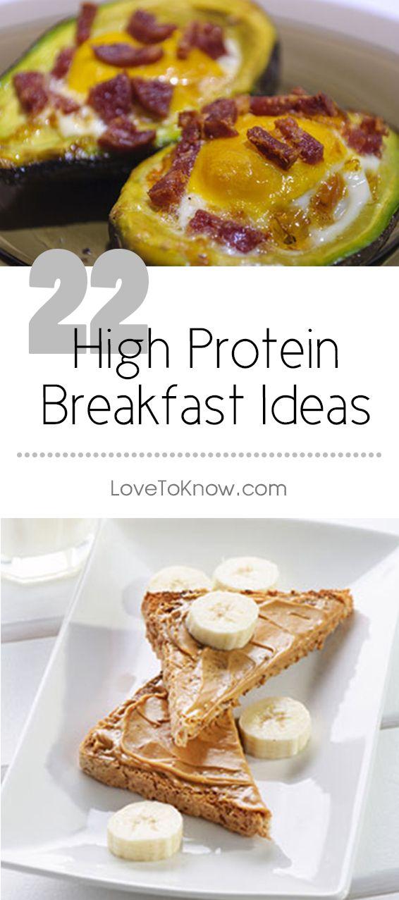 High Protein Breakfast Foods Lovetoknow High Protein Breakfast Recipes High Protein Breakfast High Protein Recipes