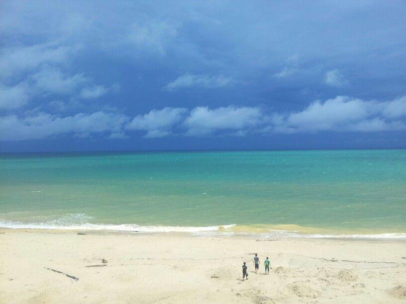 A Sunny Day at Berakas beach, Brunei-Muara district, Brunei