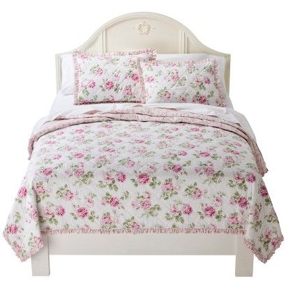 simply shabby chic garden rose bedding collection i bought mine at target