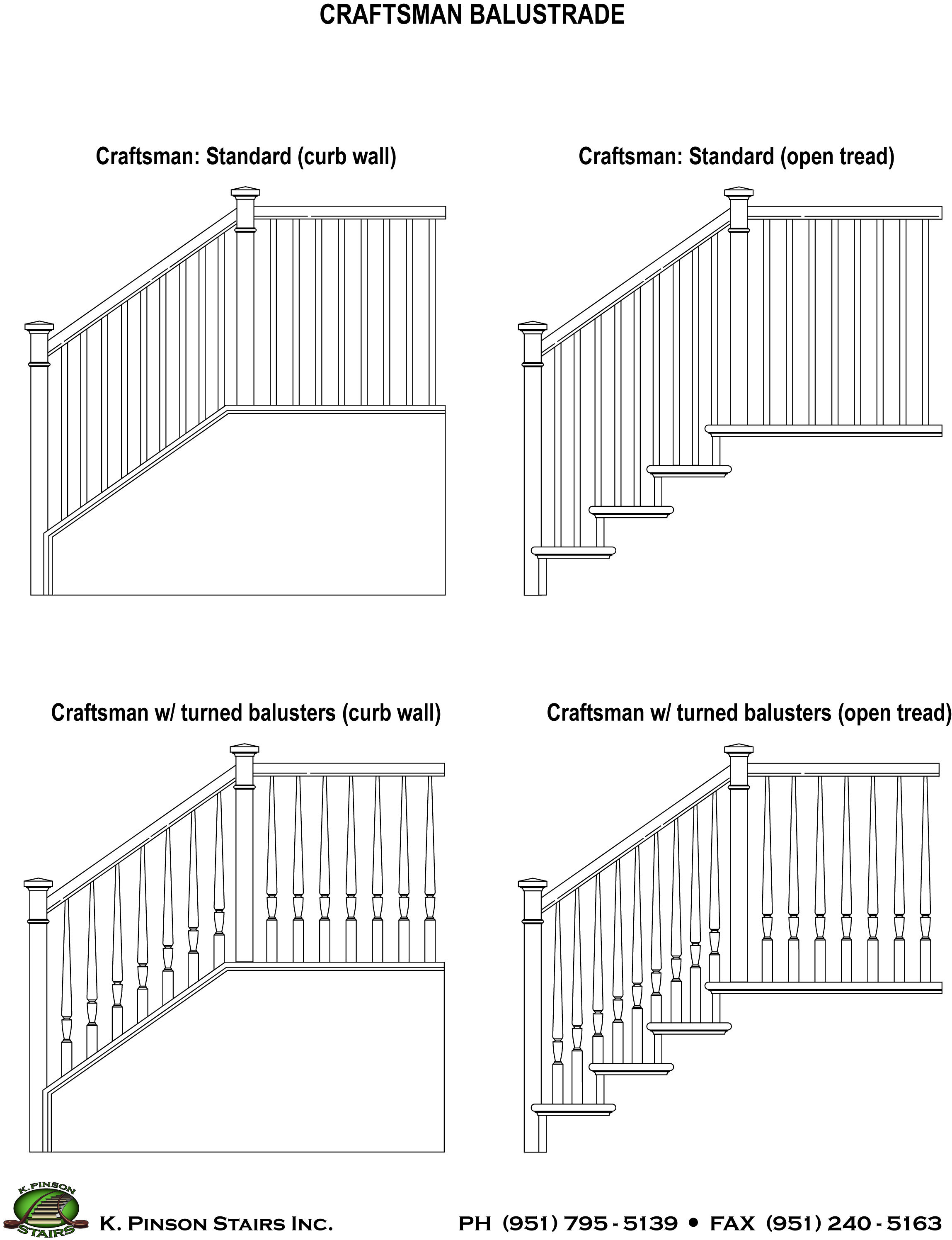 Basic Craftsman Staircases