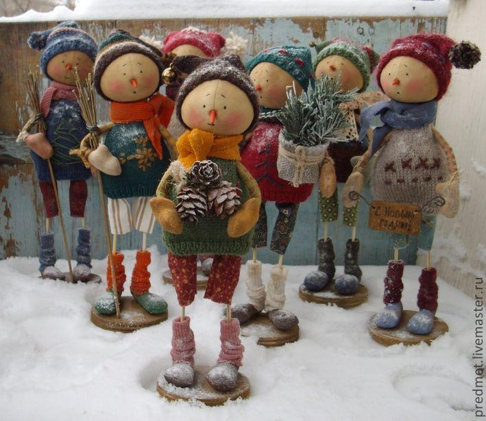 Купить Lordag (Суббота) - Новогодняя неделька - Новый Год, снеговик, Снег, подарок на новый год