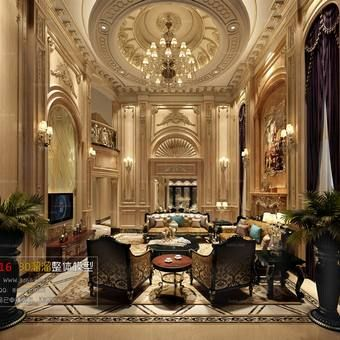 extraordinary european style living room design 3d house free pictures | 3d66 Living room D038-european-style download free 3d ...