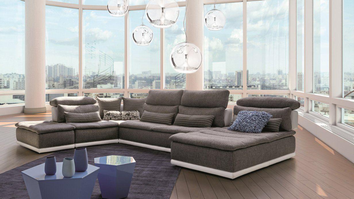 Canape Panorama Salon D Angle Modulable Design Et Chaleureux Xxl Meubles Mobilier De Salon Canape Xxl