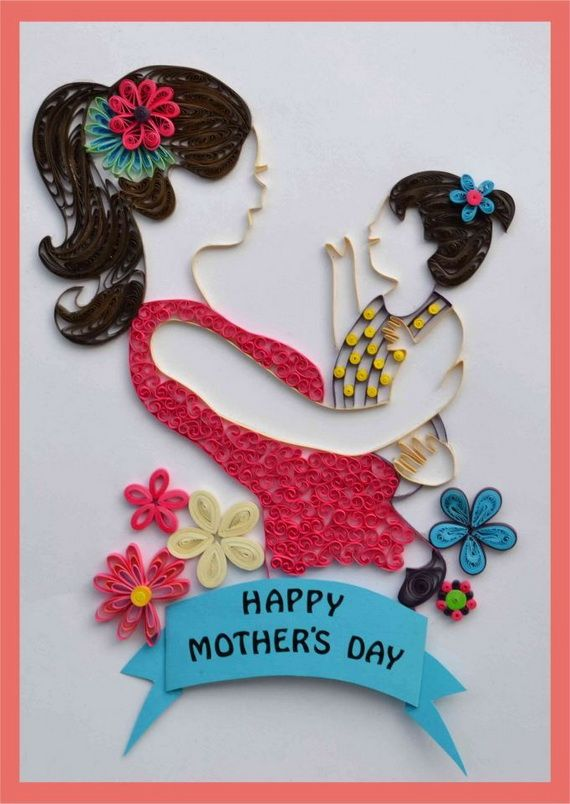 50 Quilled Mother S Day Craft Projects And Ideas Quilling Designs Mothers Day Crafts Quilling Cards
