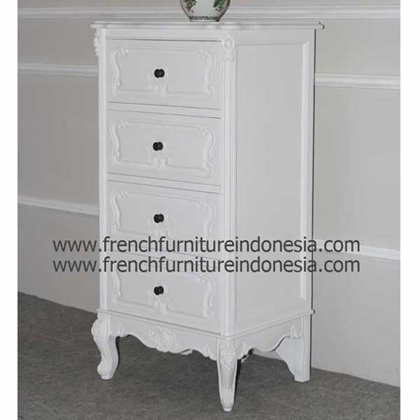 Buy Yorkshire Tallboy 4 Drawers from French Antique