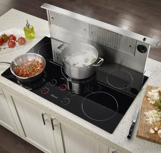 New Dacor Induction Cooktops Look Smart Cook Smart Kitchen Island With Stove Induction Cooktop Smart Kitchen