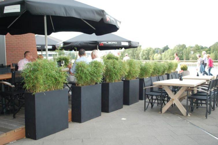 elemento 6er set terrasse und balkon mit pflanzk beln gestalten pinterest pflanzk bel. Black Bedroom Furniture Sets. Home Design Ideas