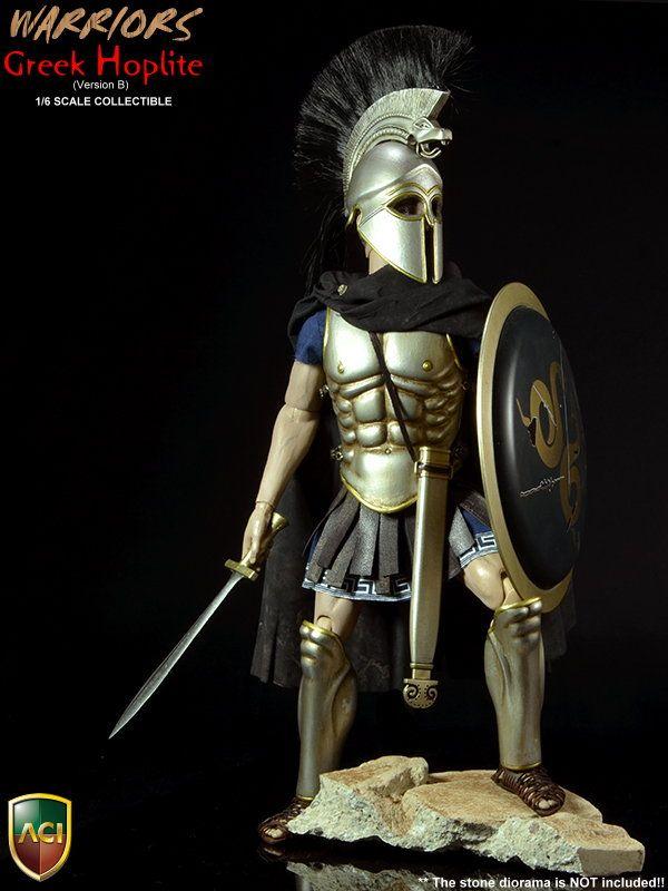 72d34713c Product Announcement [ ACI Toys ] 1/6 Ancient Greek Hoplites Ver. B + Ver.  D (Spartan) Off. Pictures! - OSW: One Sixth Warrior Forum