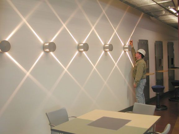 Executive Office Wall Boredoms Lighting Design