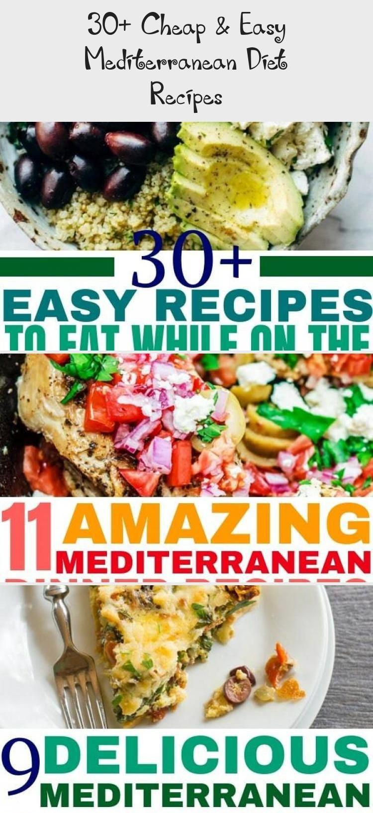 30 Cheap Easy Mediterranean Diet Recipes Easy Mediterranean Diet Recipes Mediterranean Diet Recipes Recipes