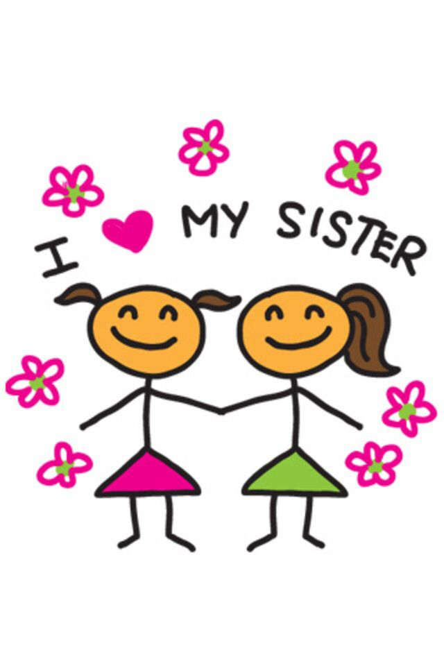Смешная картинки сестре