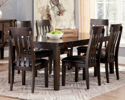 Haddigan Dining Room Table By Ashley Homestore Dark Brown Dining Room Sets Dining Room Table Furniture