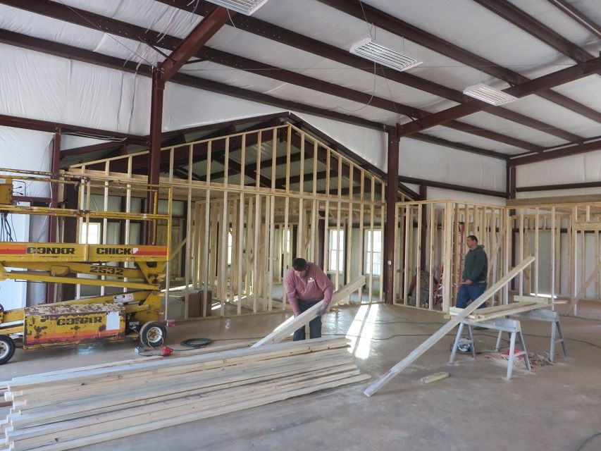 Superior Metal Buildings With Living Quarters   Projects In Action