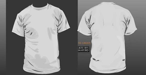 Download Front And Back T Shirt Template Shirt Template Shirt Designs Tshirt Designs