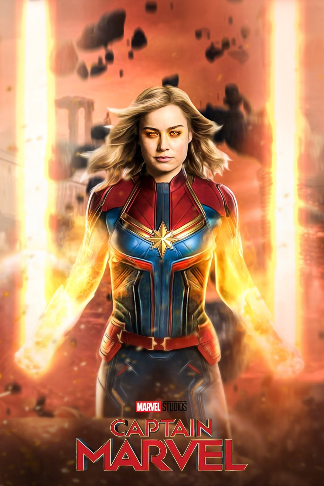 1125x2436 Captain Marvel Movie 4k 2019 Iphone Xs Iphone 10 Iphone X Hd 4k Wallpapers Images Backgrounds Phot Captain Marvel Best Movie Posters Marvel Movies