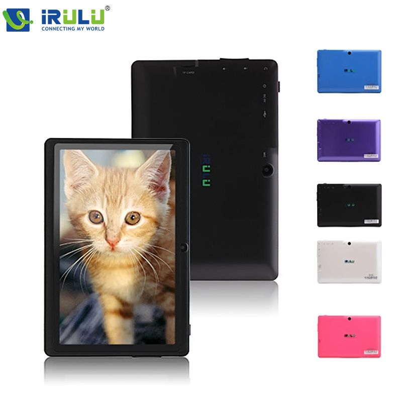 iRULU eXpro X1 7'' Tablet Android 4 4 Tablet Allwinner Quad