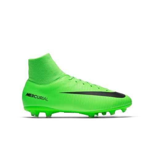Nike Boys' Mercurial Victory VI Dynamic Fit Firm Ground Soccer Shoes  (Electric Green/Black/Flash Lime/White, Size 6) - Youth Soccer Shoes at  Academ.