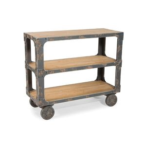 Distressed Shelving Unit Great for an island in a small kitchen