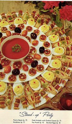 70s Party Food 70s Dinner Party Retro Recipes Food