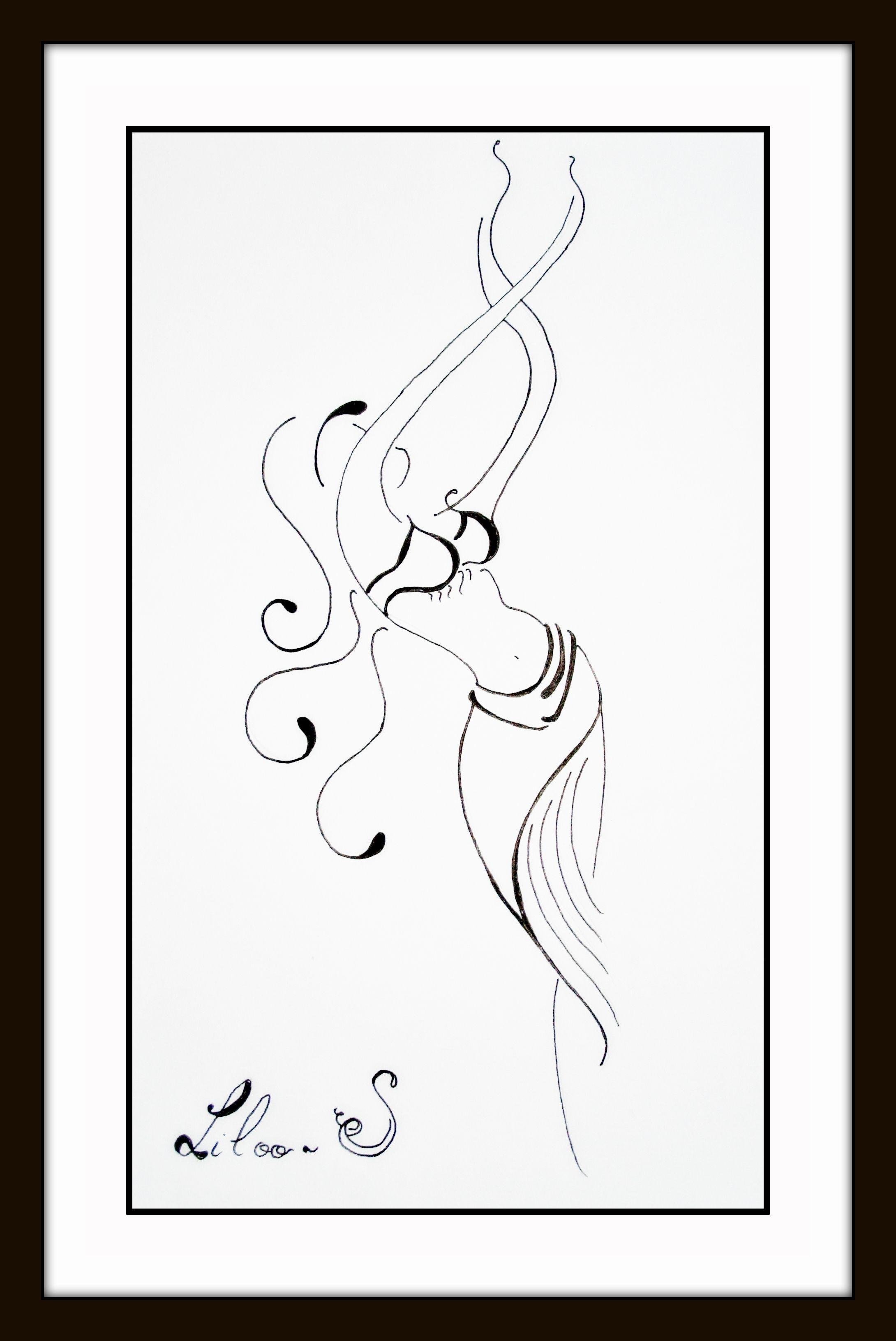 Dessin danseuse orientale - Danseuse orientale dessin ...