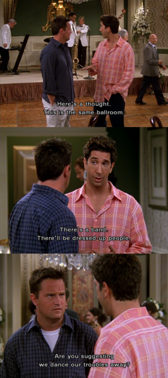 The One With The Red Sweater Friends Season Eight Pinterest