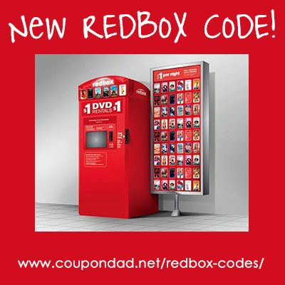 Redbox Code for a free one night rental on May the 5th