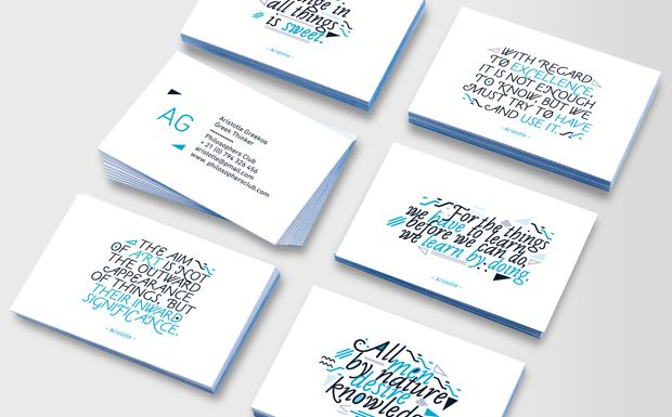 Luxe Business Cards — someday when I want business cards this ...