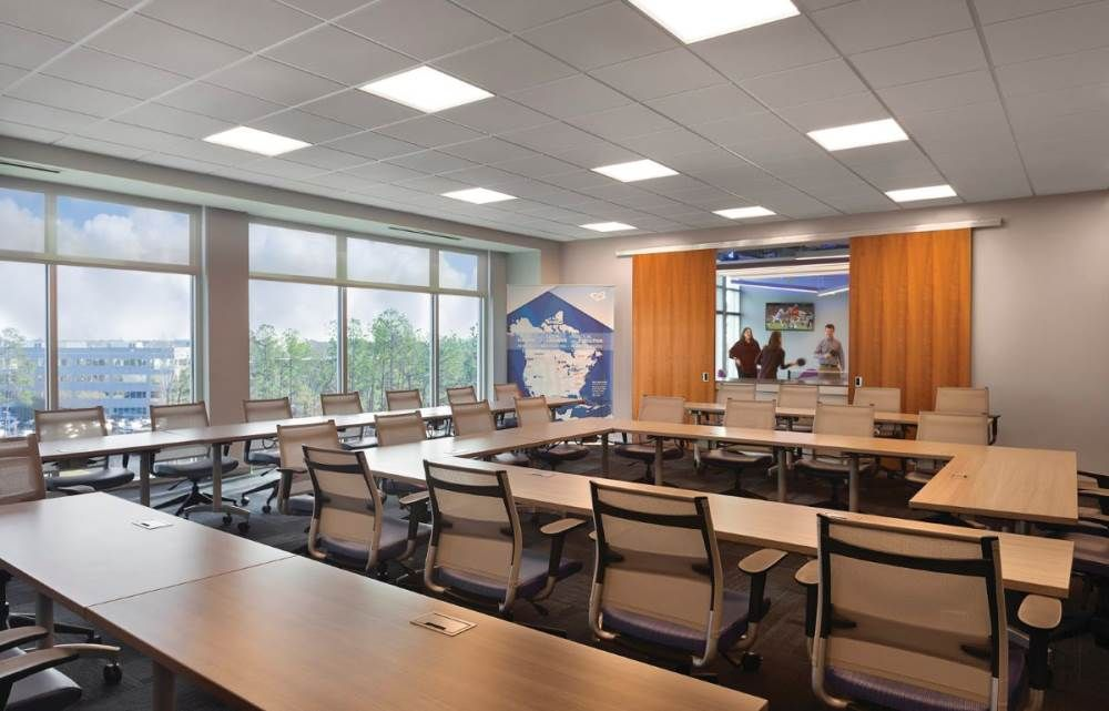 Lighting With Smart Light Technologies Are Changing The Way We Manage Facilities It Is Impacting Our Smart Lighting Building Management System Smart Building