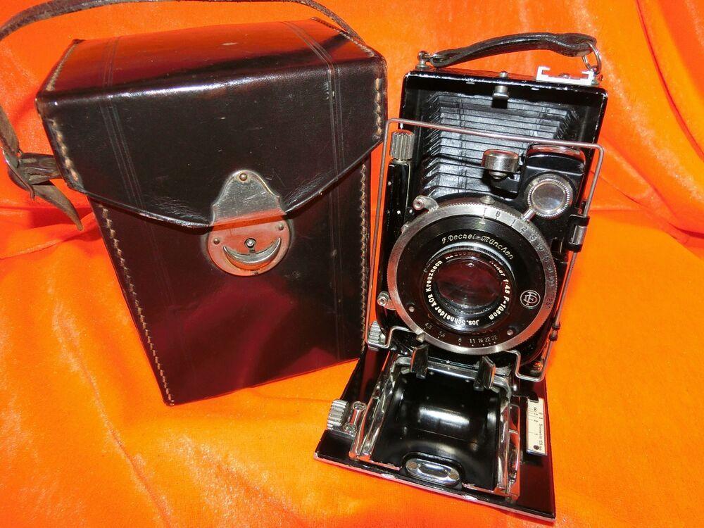 Details Zu Plattenkamera F Deckel Munchen Joh Schneider Co