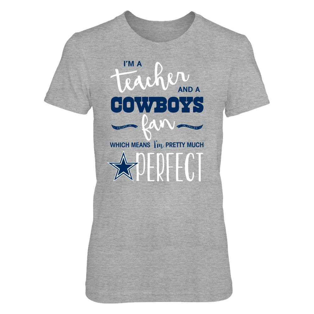05ef92c88 Teachers who are also big Dallas Cowboys fans are loving this t-shirt!  LIMITED EDITION - NOT SOLD IN STORES! Hurry and order this exclusive Dallas  Cowboys ...