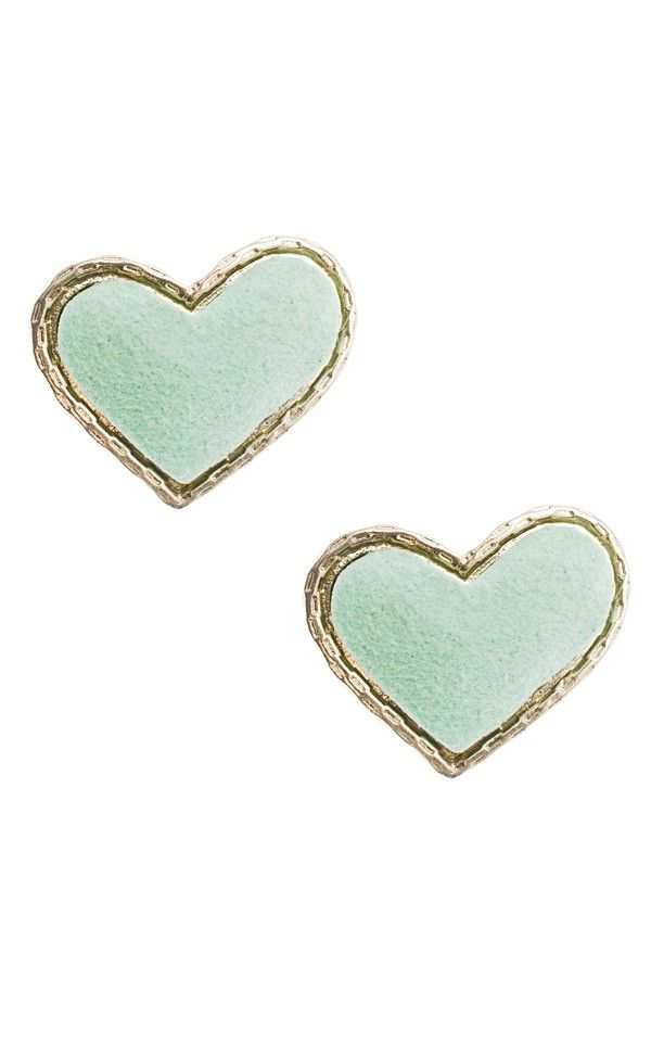 Heart Me Earrings MINT