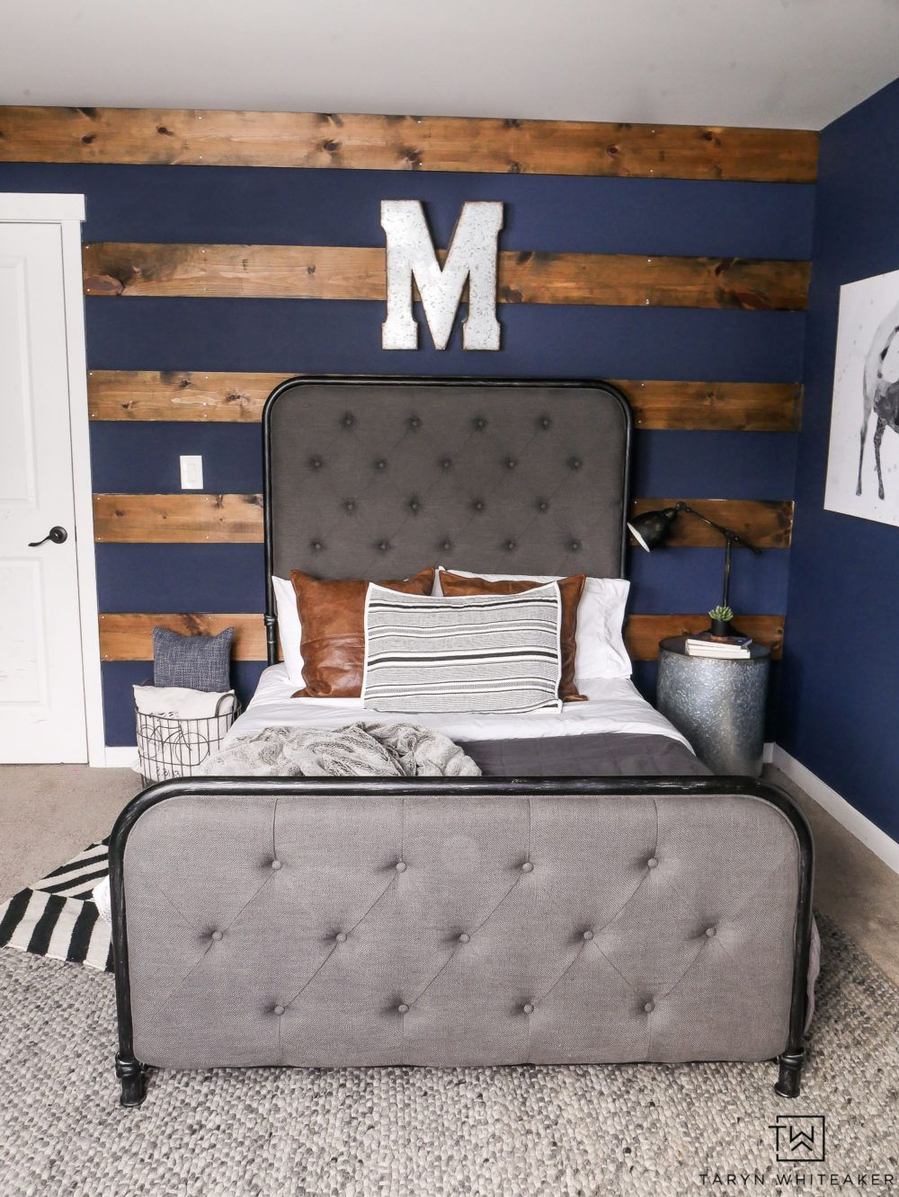 Navy Blue Boys Bedroom images