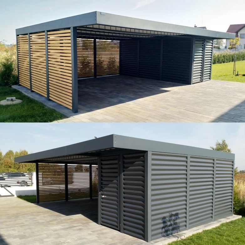 Organizing A Garage On A Budget Garage Reno Ideas Rat Rod Decor Modern Carport Carport Designs Garage Design