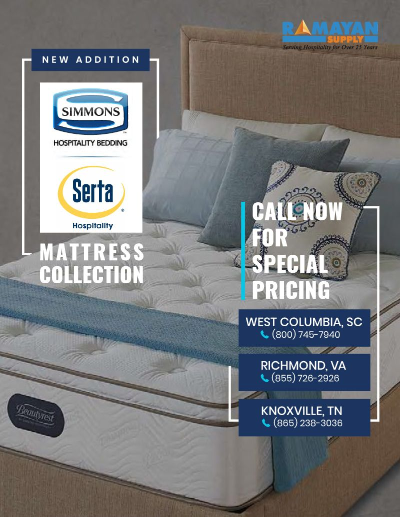 New Addition Simmons Hospitality Bedding Serta Hospitality