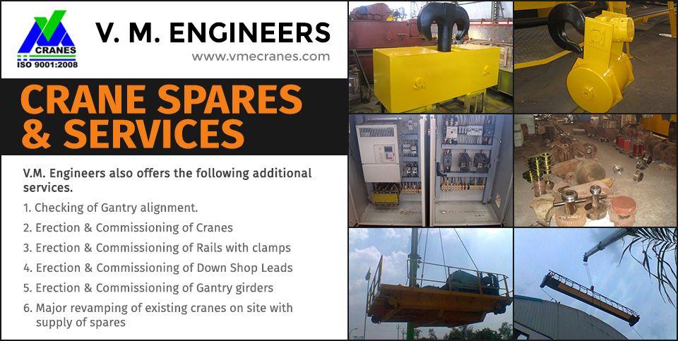 Pin on Crane Spares & Services