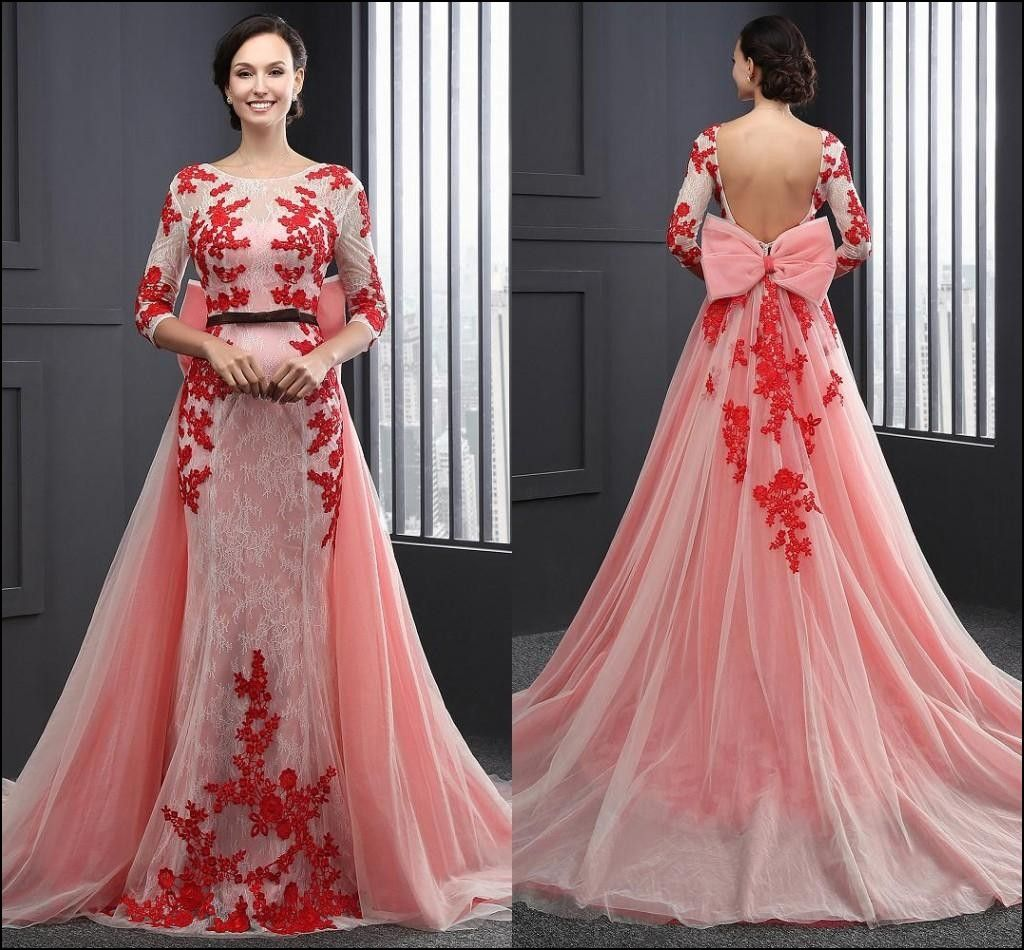 Designer Evening Gowns Red