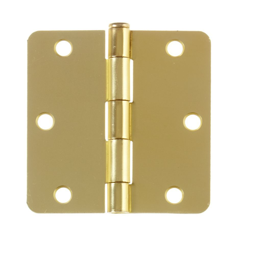 3 1 2 Inch Satin Brass Door Hinge For 1 3 4 Inch Thick Door Brass Door Satin Brass Door Hinges
