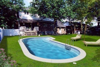 M s de 25 ideas incre bles sobre piscinas prefabricadas en for Cubiertas de piscinas baratas