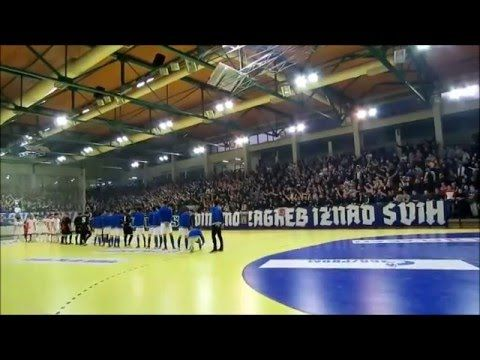 Dinamo Zagreb Fans Have Been Boycotting Games For Years Because Of The Corrupt Board This Is The Atmospehere From The Futsal Game Of Dinamo Zagreb A Team The