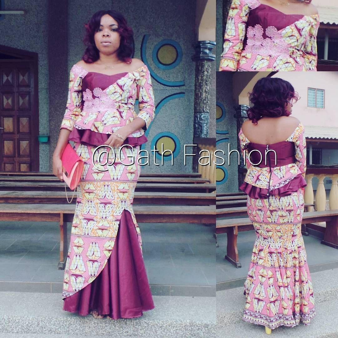 Image result for modèle kitenge | African fashion dresses ...