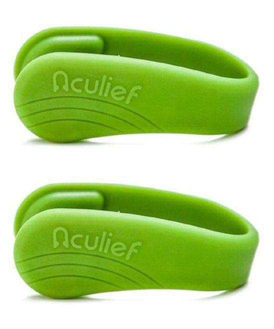 Aculief Green Wearable Acupressure - Set of Two ...
