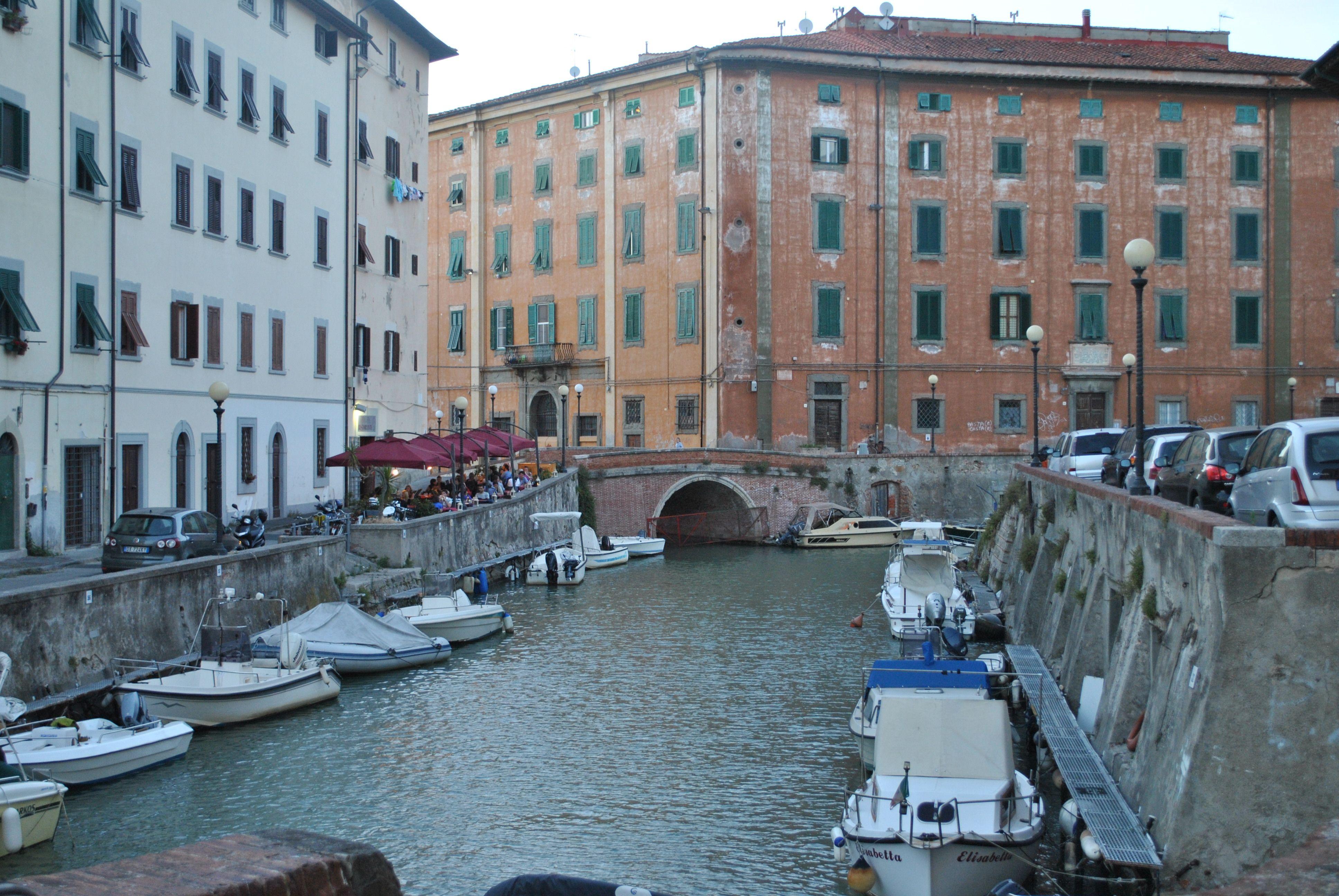 Quartiere della Venezia, the historic centre of my city. Livorno, Tuscany #Italy
